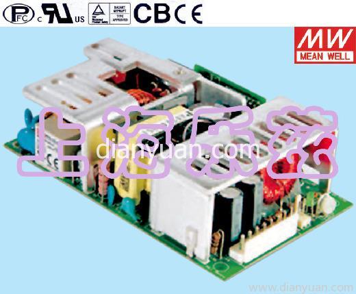 [产品介绍]:------主要特点------ 全球通用全范围交流输入电压, 功率因素:115VAC时>0.98;230VAC>0.93 高功率密度6.117W/in3 3 5紧凑尺寸 有短路保护/过载保护/过电压保护 内置远端检测功能 自然风冷(100W),18CFM风扇冷却(125W) 100%满载老化测试, 3年免费质保 ------主要指标------ 交流输入电压范围:90~264VAC/120~370VDC 交流冲击电流:冷启动, 40A/230V 直流调整范围:额定输出电压的10%
