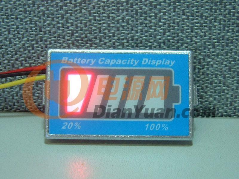 供应电池电量显示器 锂电池电量 磷酸铁电量