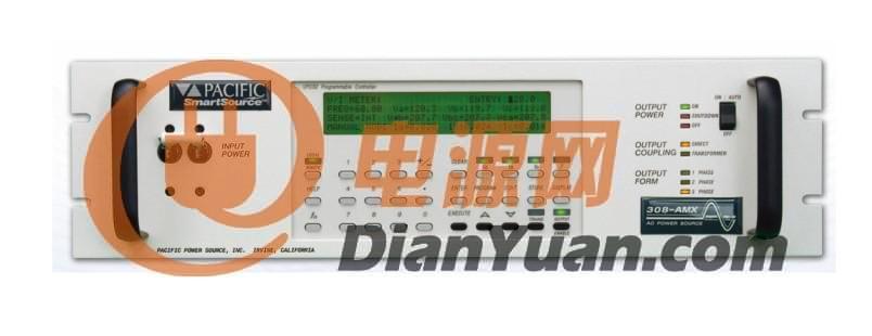 所有控制器都可通过前面板进行手动操作。可程控控制器可通过前面板或远程接口进行控制。IEEE488.2为标配接口,RS232为选配接口。 提高输出电压范围(变压器模组选配) AMX系列交流电源可以选配输出变压器来提高输出电压范围。可通过前面板或远程指令改变直接耦合或变压器耦合输出范围。变压器耦合输出条件下标准输出频率范围是45到5,000 Hz 。标准变压器输出比率为1.