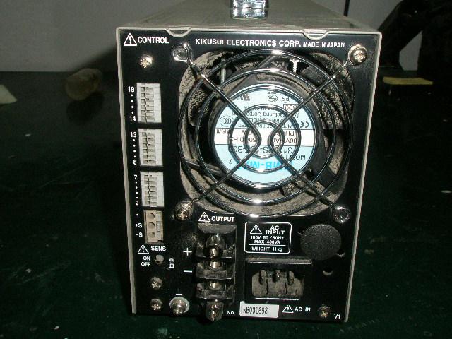 [产品介绍]: 产品型号: PAN35-5A 高性能电源 8成新左右 原产地: 日本 产品描述: PAN35-5A是采用串联调节器方式的直流稳压电源。对于被视为电源装置中重要因素的可靠性和安全性,该系统也进行了周全的考虑,如采用充分余量额定值的部件,并且装备各类安全功能。 广泛应用于从研究开发、质量管理到生产现场等领域,具有很高的通用性。输出容量175W。最大输出电压0-35V、电流0-5A 特长 低温度漂移 快速过渡响应 低脉动噪声电压 装有各类安全功能 基于外部电压的远程控制 基于外部电阻的远程控制