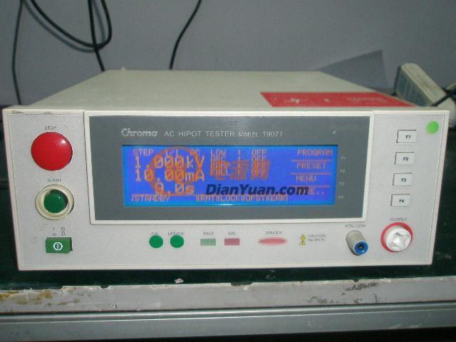 供应chroma19071耐压测试仪/二手仪器