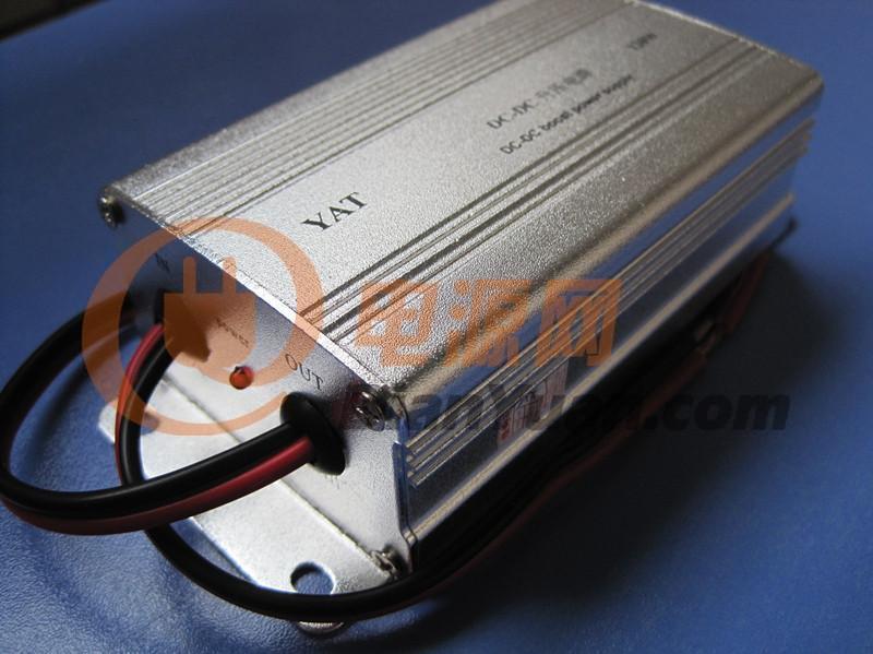 供应厂家特价供应 dc12v-dc24v直流升压器 车载电源转换器 质高价优