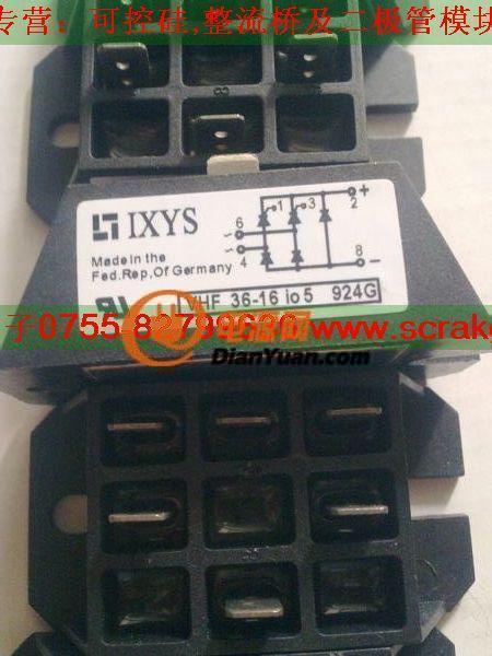 供应ixys全新原装单项半控整流模块vhf36-16io5