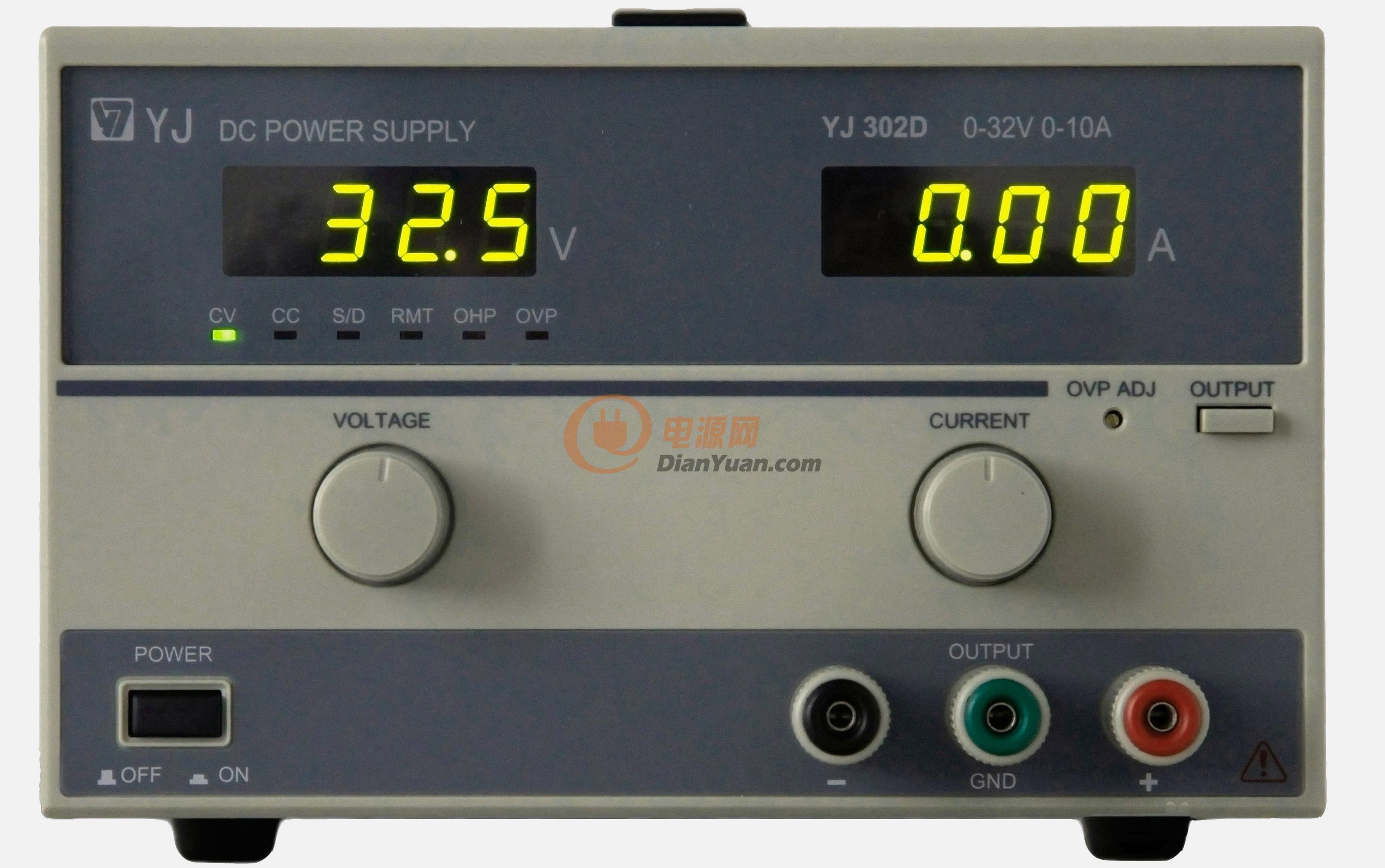 yj300系列双路直流稳压稳流电源
