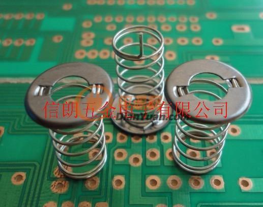 供应电容式触摸屏触摸弹簧感应弹簧