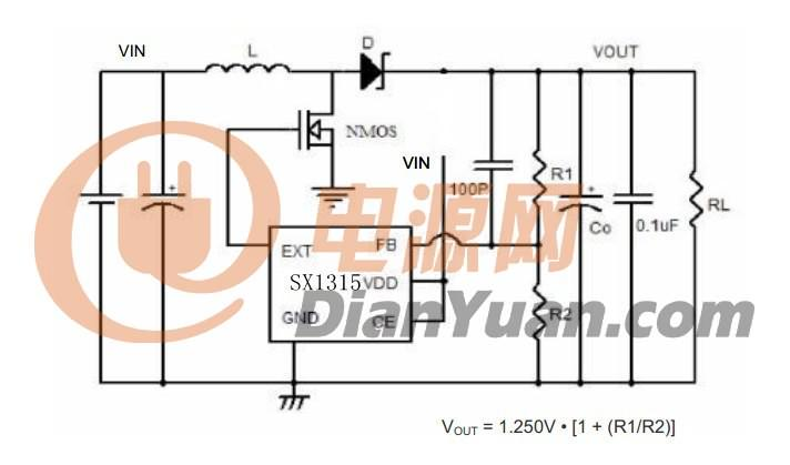 3.7v升5v升压板电路 3.7v升5v升压板电路图 3.7v升5v升压板