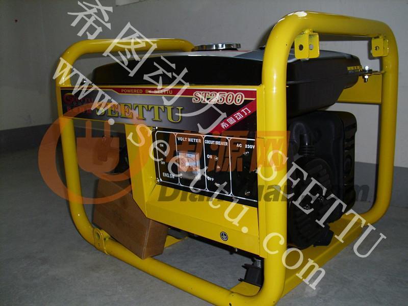 2kw单相手启动式汽油发电机