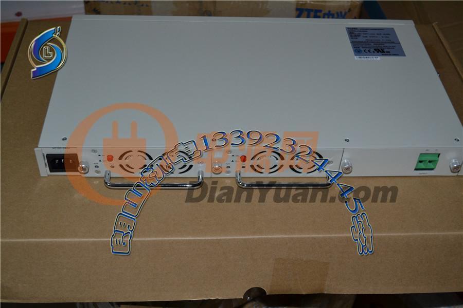 电池分路:2路电池输出 接线方式:前接线 通信电源整流模块:rm4805
