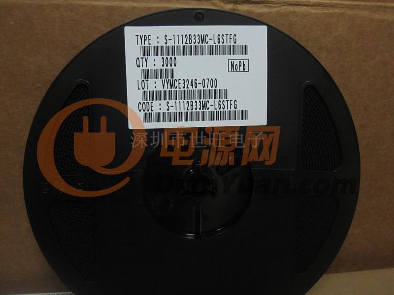 供应集成电路s-1112b33mc-l6stfg 电源ic seiko原装正品s-1112b33mc