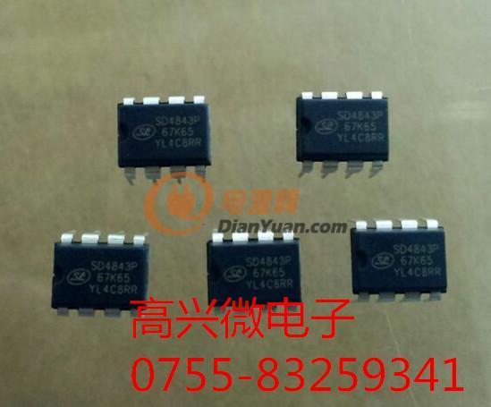 供应sd4843p67k65代替viper22a