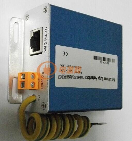 供应网络电源二合一防雷器 网络摄像机防雷器