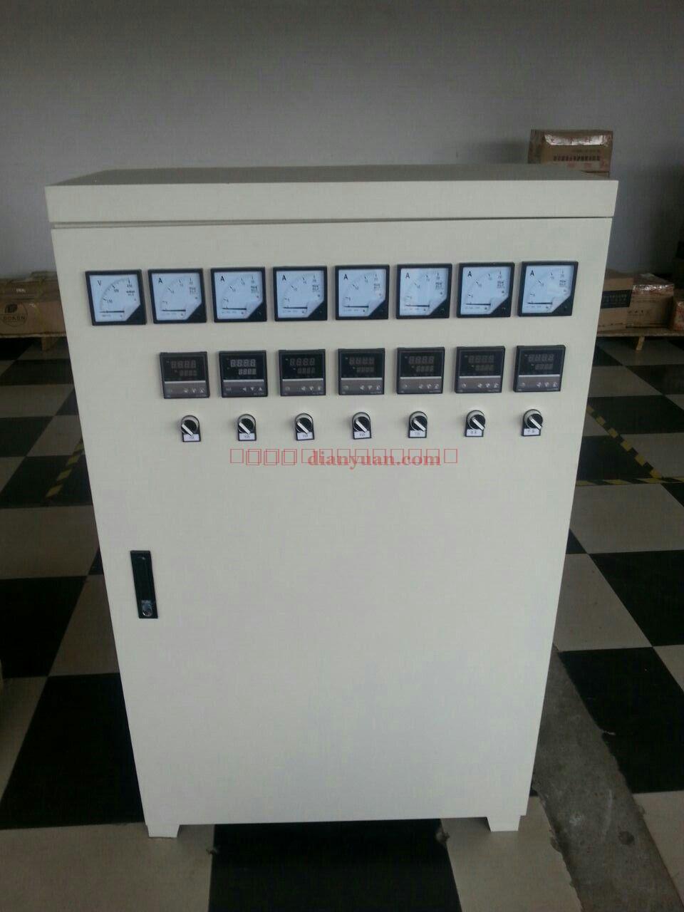[产品介绍]: 产品电气规格:额定电压频率:380VAC 50Hz /60Hz 电压适应范围:350V-410V 额定功率:根据工件加温要求 工作频率:12-28KHz 最佳段15-22KHz 安全工作环境温度:-20-45; 工作湿度:95% 热效率95% 基本性能概述 :有软启动功能,在频繁启动的情况下,安全可靠,使用寿命长 有缺相保护功能 有IGBT过流保护功能 有IGBT过温保护功能 有加热线圈短路保护功能 半桥串联谐振电路拓扑,抗干扰能力强 采用高性能IGBT驱动模块驱动 自动识别负载及锁
