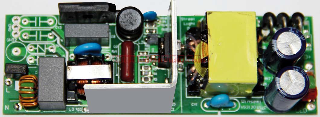 ws3130 50w led 电源应用方案