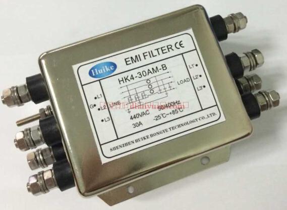 供应emi滤波器hk4-30am-b三相四线系列