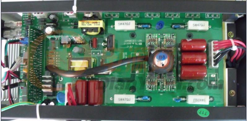 老式电焊机绕组接线图