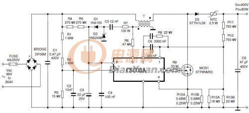 csc03a(pfc功率因素校正)