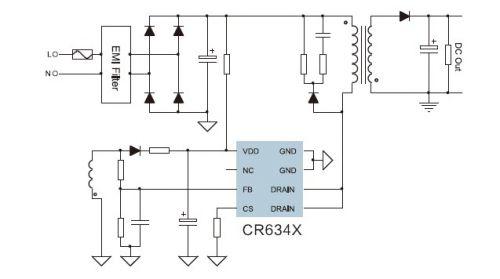 电路 电路图 电子 户型 户型图 平面图 原理图 500_279